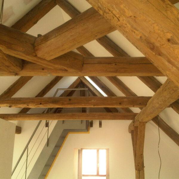 Protipožární nátěry - konstrukce - dřevo