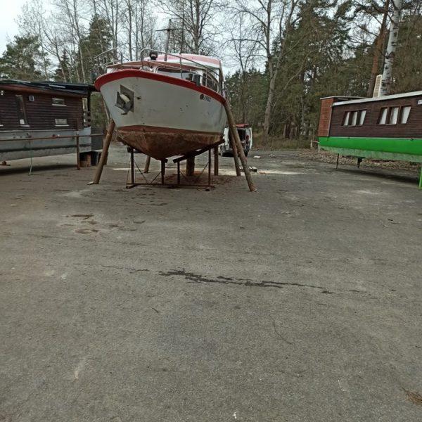 Renovace lodi Orlík